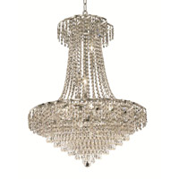 Elegant Lighting ECA4D26C/EC Belenus 15 Light 26 inch Chrome Dining Chandelier Ceiling Light in Elegant Cut alternative photo thumbnail
