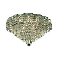 Elegant Lighting Belenus 6 Light Flush Mount in Chrome with Elegant Cut Clear Crystal ECA4F16C/EC alternative photo thumbnail