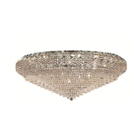 Elegant Lighting ECA4F48C/SS Belenus 36 Light 48 inch Chrome Flush Mount Ceiling Light in Swarovski Strass alternative photo thumbnail