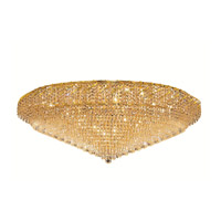 Elegant Lighting Belenus 36 Light Flush Mount in Gold with Swarovski Strass Clear Crystal ECA4F48G/SS alternative photo thumbnail