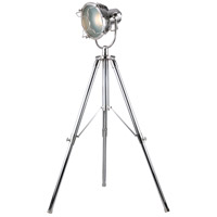 Urban Classic by Elegant Lighting Ansel Tripod 1 Light Floor Lamp in Chrome FL1206