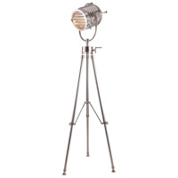 Ansel Tripod 78 inch 40 watt Chrome Floor Lamp Portable Light, Urban Classic