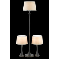 Elegant Lighting Belmont 1 Light Table Floor Lamp Set in Antique Copper FL3034(SET)