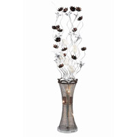 Elegant Lighting South Beach 8 Light Floor Lamp in Coffee FL4005