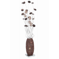 Elegant Lighting South Beach 8 Light Floor Lamp in Coffee FL4006