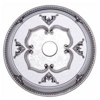 Medallion Pewter Ceiling Medallion