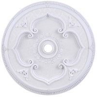 Medallion White Ceiling Medallion