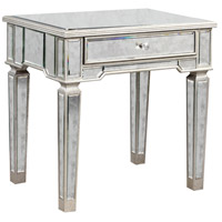 Florentine 26 X 20 inch Silver and Antique Mirror Table Home Decor