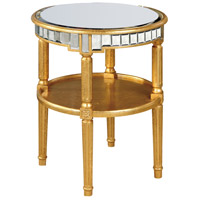 Florentine 23 X 23 inch Gold and Antique Mirror Table Home Decor