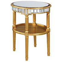Florentine 23 X 23 inch Gold and Clear Mirror Table Home Decor