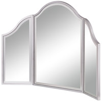 Elegant Lighting MF6-1042S Contempo 37 X 24 inch Silver Paint Dressing Mirror