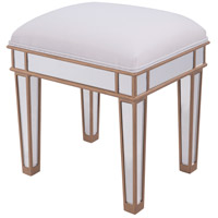 Contempo Gold Paint Dressing Stool Home Decor