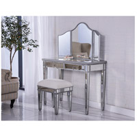 Captivating Elegant Lighting MF6 2002S Chamberlan Silver Vanity Table Set, Set Of 3 ( Table