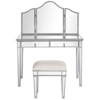 Elegant Lighting MF6 2002S Chamberlan Silver Vanity Table Set, Set Of 3 ( Table