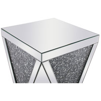 Elegant Lighting MF92008 Modern 23 X 19 inch Clear Mirror End Table alternative photo thumbnail