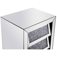 Elegant Lighting MF92014 Modern 26 X 18 inch Clear Mirror Bedside Table alternative photo thumbnail
