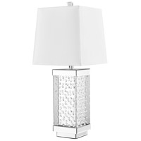 Sparkle 29 inch 60 watt Silver Table Lamp Portable Light