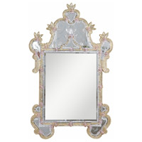 Murano 48 X 31 inch Gold Mirror Home Decor