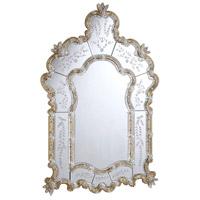 Elegant Lighting Murano 48.75-in. Mirror in Gold MR-1002G