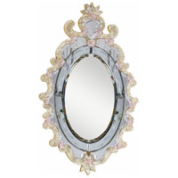 Murano 36 X 22 inch Gold Mirror Home Decor