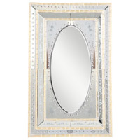 Murano 52 X 35 inch Gold Mirror Home Decor