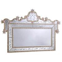 Elegant Lighting Murano 58-in. Mirror in Gold MR-1005G