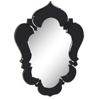 Elegant Lighting Venetian 25.6-in. Mirror in Black Mirror MR-2007BK