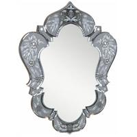 Elegant Lighting Venetian 25.6-in. Mirror in Grey Mirror MR-2009GR