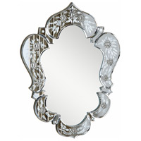 Elegant Lighting MR-2011C Venetian 26 X 21 inch Clear Mirror Wall Mirror