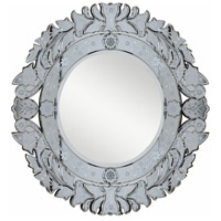 Elegant Lighting MR-2013C Venetian Silver and Clear Mirror Mirror Home Decor