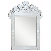 Venetian 51 X 48 inch Silver and Clear Mirror Wall Mirror Home Decor