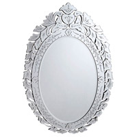 Elegant Lighting Venetian 44.5-in. Mirror in Clear Mirror MR-2017C - Open Box