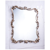 Antique 40 X 32 inch Antique Silver Leaf Mirror Home Decor