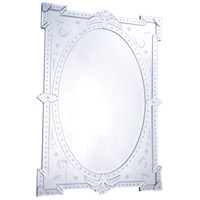 Elegant Lighting MR-2033 Venetian 41 X 29 inch Clear Mirror Wall Mirror