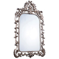 Elegant Lighting Antique Mirror in Antique Silver Leaf MR-2039 - Open Box