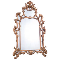Elegant Lighting MR-2042 Antique 48 X 29 inch Antique Gold Leaf Wall Mirror