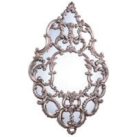 Elegant Lighting Antique Mirror in Antique Silver Leaf MR-2045