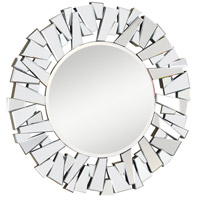 Elegant Lighting Modern 47.25-in. Mirror in Silver and Clear Mirror MR-3004C