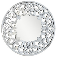 Modern Silver and Clear Mirror Mirror Home Decor