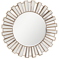 Modern Gold and Clear Mirror Mirror Home Decor
