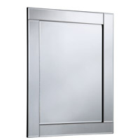 Elegant Lighting MR-3047 Modern 48 X 32 inch Clear Mirror Wall Mirror