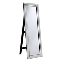 Modern 59 X 18 inch Clear Mirror Home Decor, Rectangle