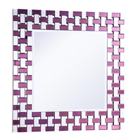 Modern 39 X 39 inch Clear Mirror Mirror Home Decor