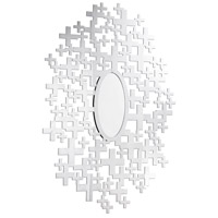 Modern 51 X 51 inch Clear Mirror Wall Mirror Home Decor