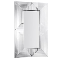 Elegant Lighting Modern 58.1-in. Mirror in Clear Mirror MR-3159