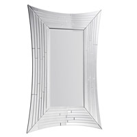Modern 53 X 53 inch Clear Mirror Mirror Home Decor
