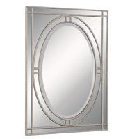 Elegant Lighting Antique 42-in. Mirror in Clear Mirror MR-3327