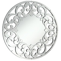 Modern 32 X 32 inch Clear Mirror Home Decor, Round
