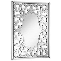 Modern 44 X 32 inch Clear Wall Mirror, Rectangle