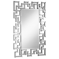 Modern 48 X 30 inch Clear Mirror Home Decor, Rectangle